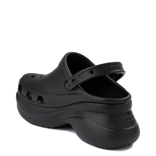 alternate image alternate view Womens Crocs Classic Bae Platform Clog - BlackALT1