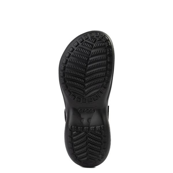 alternate image alternate view Womens Crocs Classic Bae Platform Clog - BlackALT3