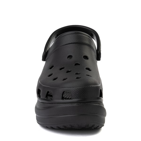 alternate image alternate view Womens Crocs Classic Bae Platform Clog - BlackALT4