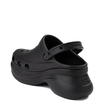 Alternate view of Womens Crocs Classic Bae Platform Clog - Black