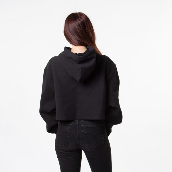 alternate image alternate view Womens Champion Reverse Weave Cropped HoodieALT2