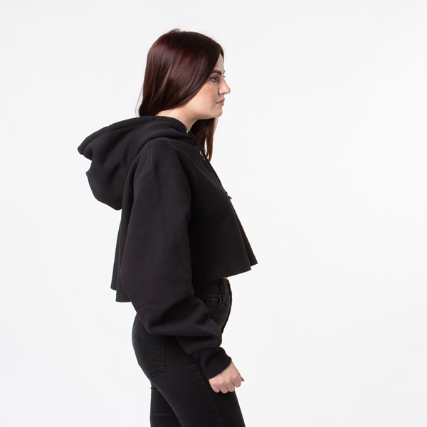 alternate image alternate view Womens Champion Reverse Weave Cropped HoodieALT4