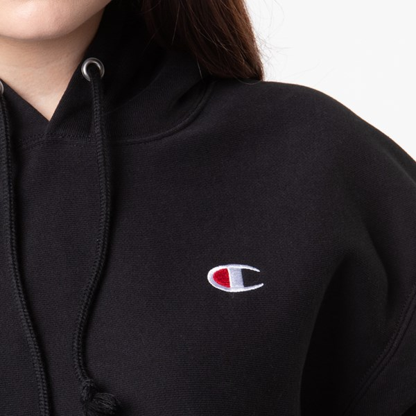 alternate image alternate view Womens Champion Reverse Weave Cropped HoodieALT6
