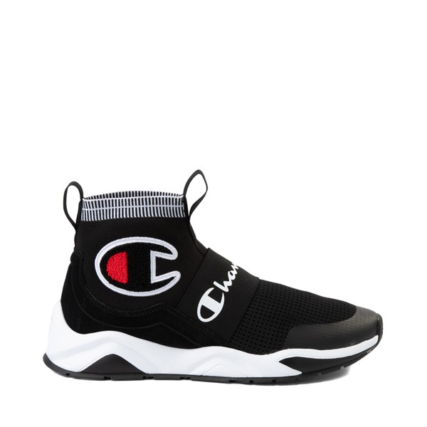 Main view of Mens Champion Rally Pro Athletic Shoe - Black