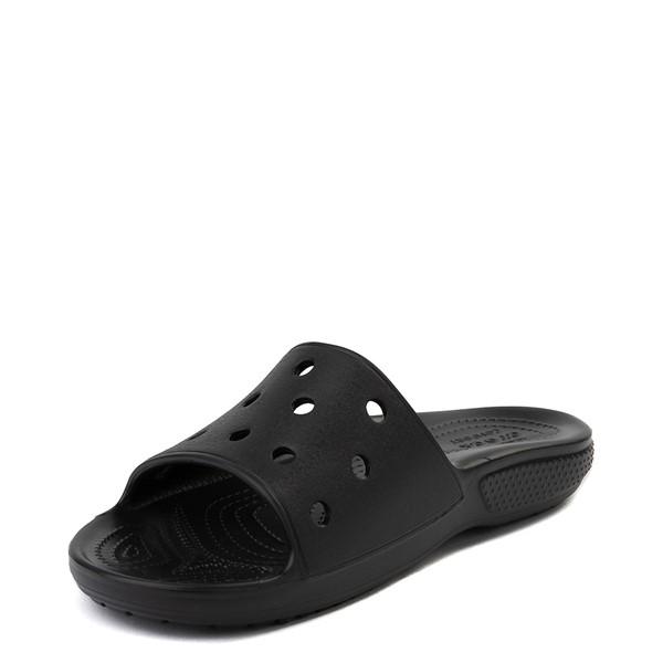 alternate image alternate view Crocs Classic Slide Sandal - BlackALT2