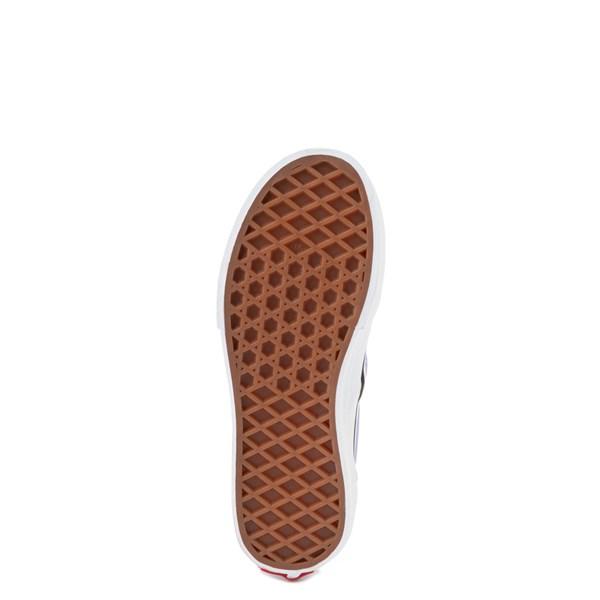 alternate image alternate view Vans Slip On Checkerboard Skate Shoe - Little Kid - Pale Iris / WhiteALT5