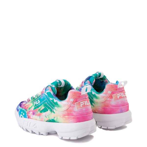 alternate image alternate view Womens Fila Disruptor 2 Tie Dye Athletic Shoe - MultiALT1