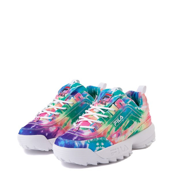 alternate image alternate view Womens Fila Disruptor 2 Tie Dye Athletic Shoe - MultiALT2