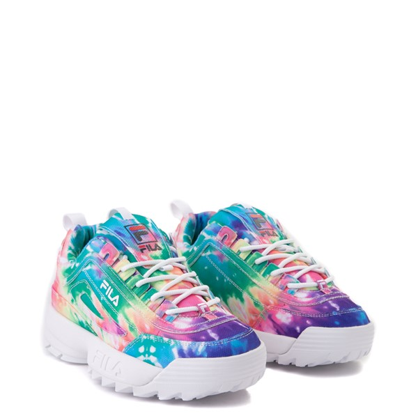 alternate image alternate view Womens Fila Disruptor 2 Tie Dye Athletic Shoe - MultiALT5
