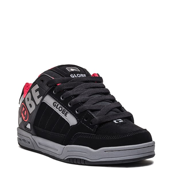 alternate image alternate view Mens Globe Tilt Skate Shoe - Black / Carbon / RedALT1