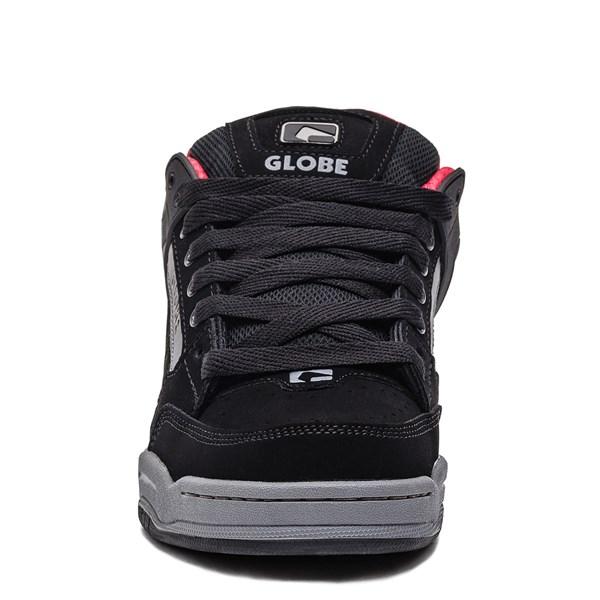 alternate image alternate view Mens Globe Tilt Skate Shoe - Black / Carbon / RedALT4
