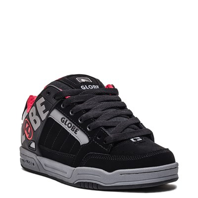 Alternate view of Mens Globe Tilt Skate Shoe - Black / Carbon / Red