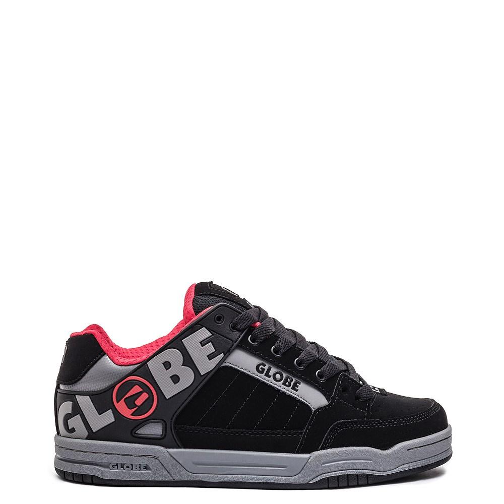 Mens Globe Tilt Skate Shoe - Black / Carbon / Red