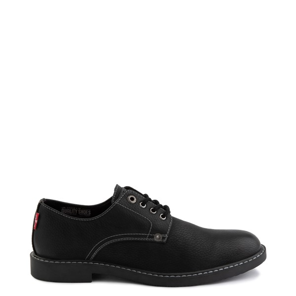 Main view of Mens Levi's Brawley Casual Shoe - Black Monochrome