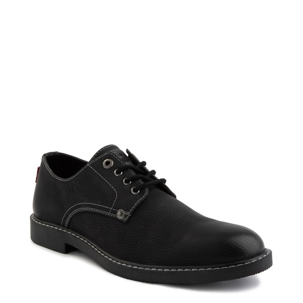 alternate image alternate view Mens Levi's Brawley Casual Shoe - Black MonochromeALT5