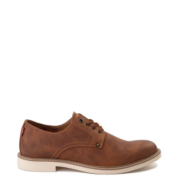 Main view of Mens Levi's Brawley Casual Shoe - British Tan