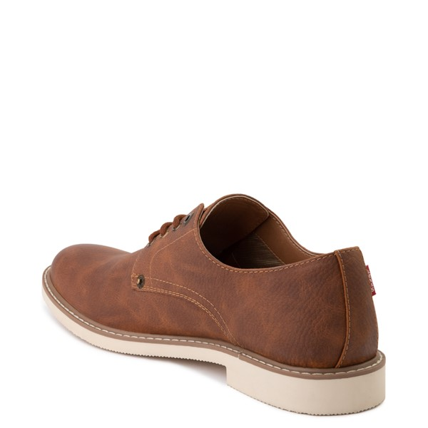 alternate image alternate view Mens Levi's Brawley Casual Shoe - British TanALT1