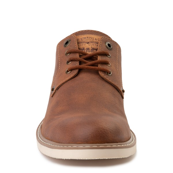 alternate image alternate view Mens Levi's Brawley Casual Shoe - British TanALT4