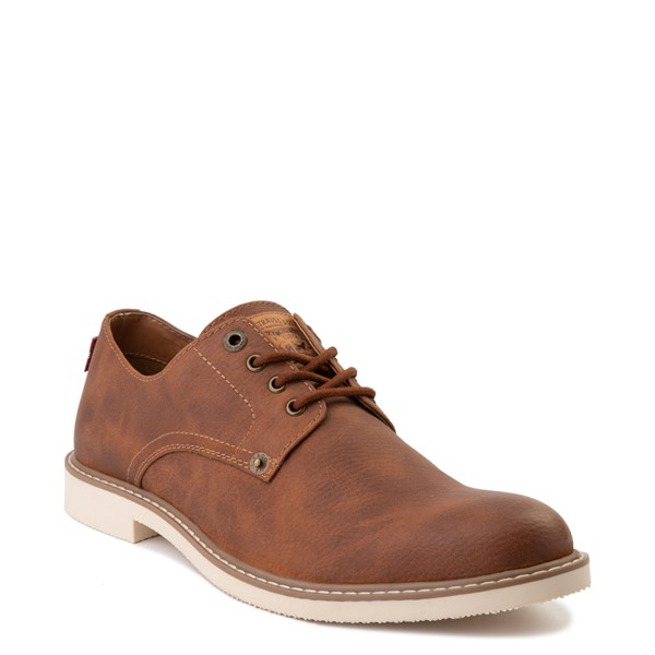 alternate image alternate view Mens Levi's Brawley Casual Shoe - British TanALT5
