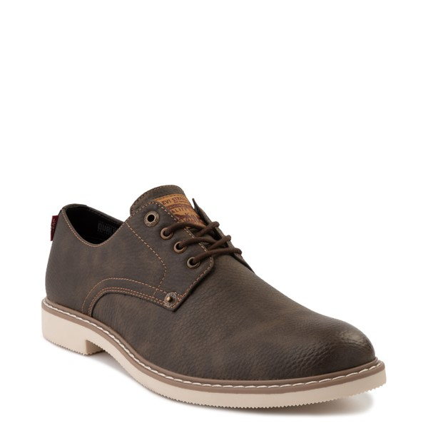 alternate image alternate view Mens Levi's Brawley Casual Shoe - BrownALT5