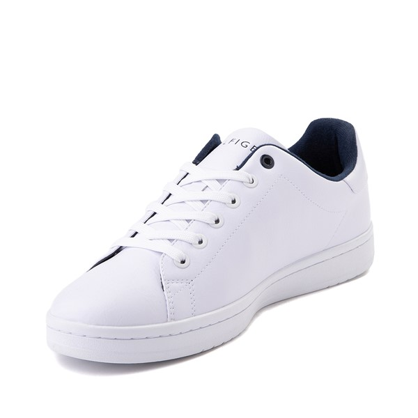 alternate image alternate view Mens Tommy Hilfiger Lendar Casual Shoe - WhiteALT2