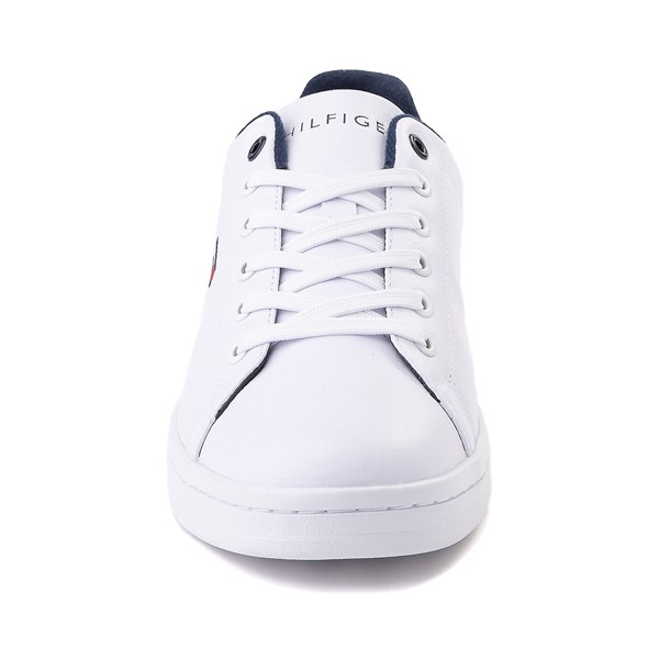 alternate image alternate view Mens Tommy Hilfiger Lendar Casual Shoe - WhiteALT4