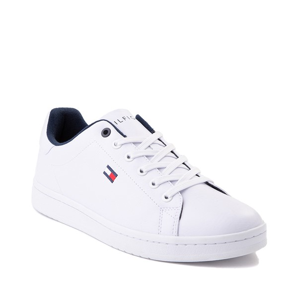 alternate image alternate view Mens Tommy Hilfiger Lendar Casual Shoe - WhiteALT5