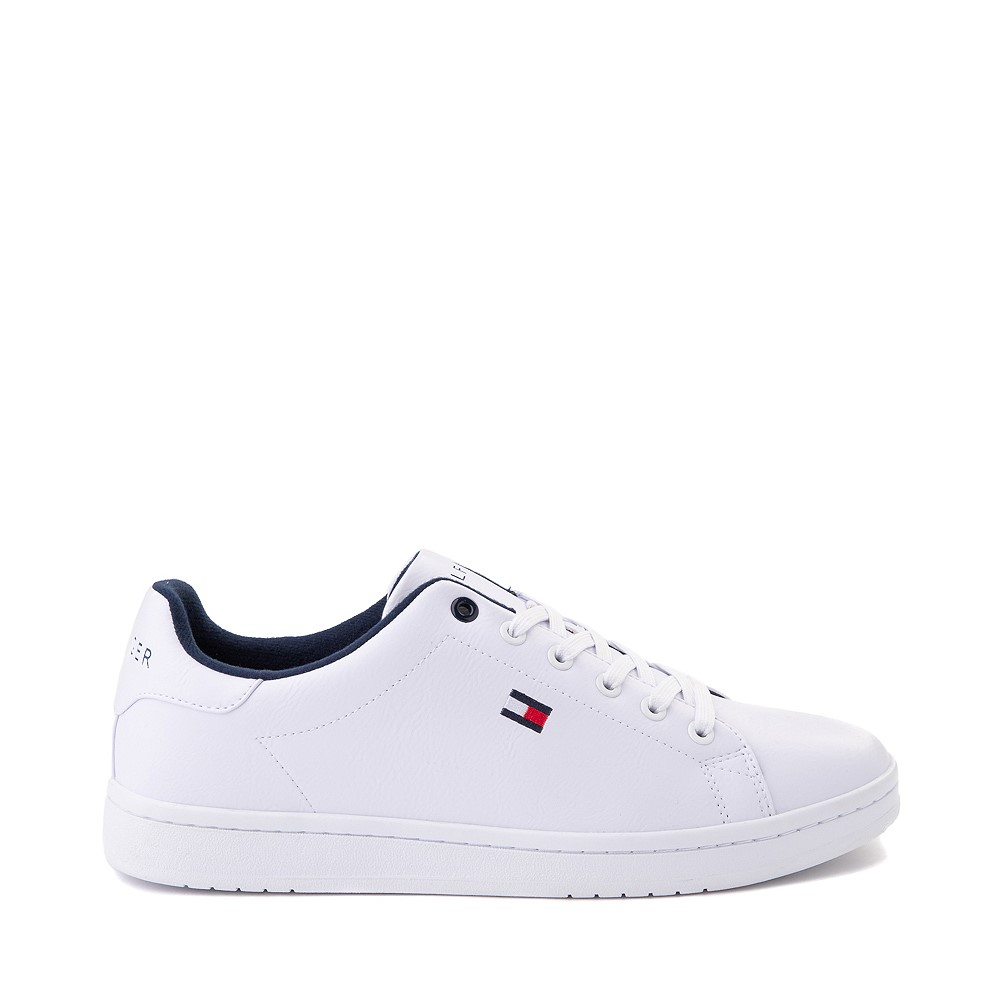 Mens Tommy Hilfiger Lendar Casual Shoe - White