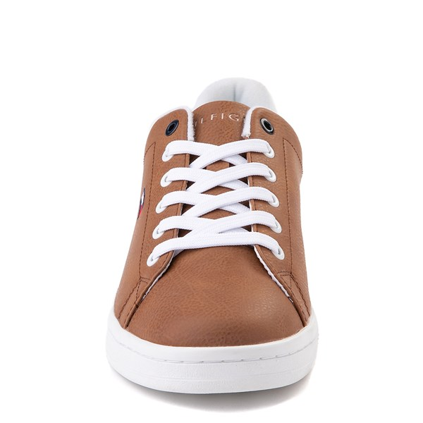 alternate image alternate view Mens Tommy Hilfiger Lendar Casual Shoe - CognacALT4