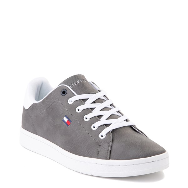 alternate image alternate view Mens Tommy Hilfiger Lendar Casual Shoe - GreyALT1
