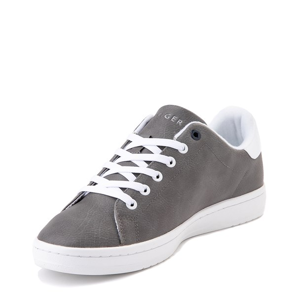 alternate image alternate view Mens Tommy Hilfiger Lendar Casual Shoe - GreyALT2