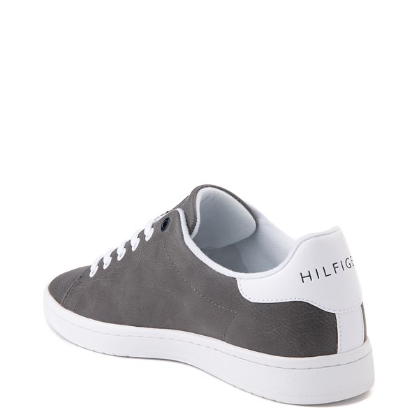 alternate image alternate view Mens Tommy Hilfiger Lendar Casual Shoe - GreyALT3