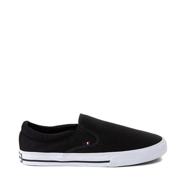 Mens Tommy Hilfiger Poyner Slip On Casual Shoe - Black