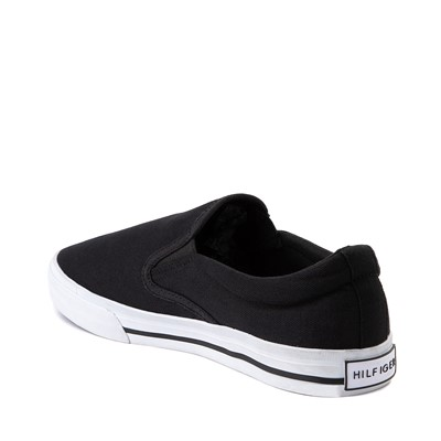 Alternate view of Mens Tommy Hilfiger Poyner Slip On Casual Shoe - Black