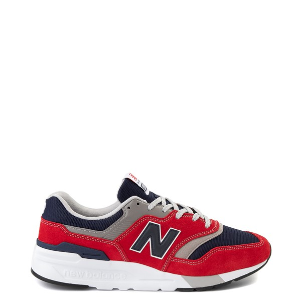 Mens New Balance 997H Athletic Shoe - Team Red / Pigment
