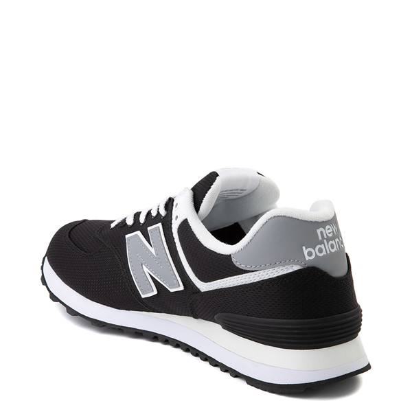 alternate image alternate view Mens New Balance 574 Athletic Shoe - Black / GreyALT1