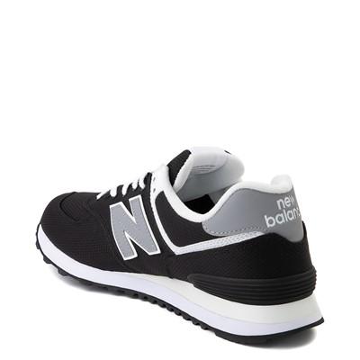 Alternate view of Mens New Balance 574 Athletic Shoe - Black / Grey