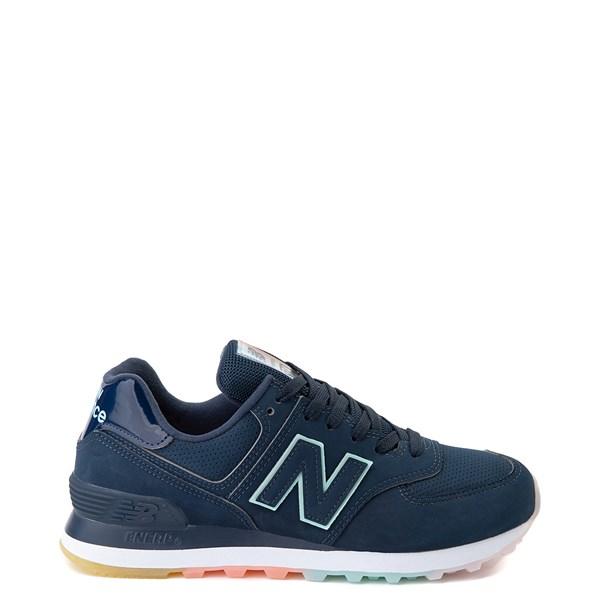 Womens New Balance 574 Athletic Shoe - Blue