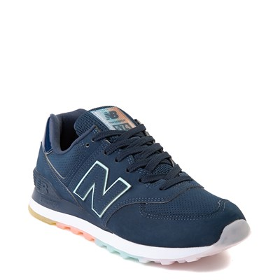 Alternate view of Womens New Balance 574 Athletic Shoe - Blue