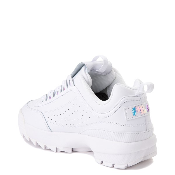 alternate image alternate view Womens Fila Disruptor 2 Premium Athletic Shoe - White / IridescentALT1