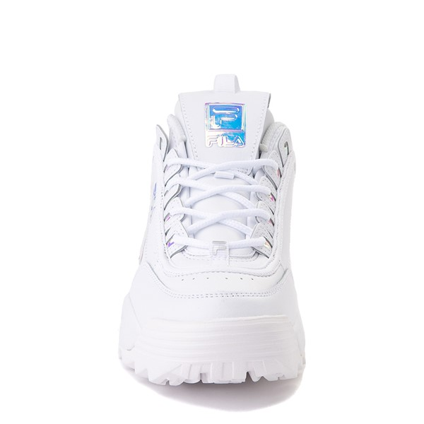 alternate image alternate view Womens Fila Disruptor 2 Premium Athletic Shoe - White / IridescentALT4