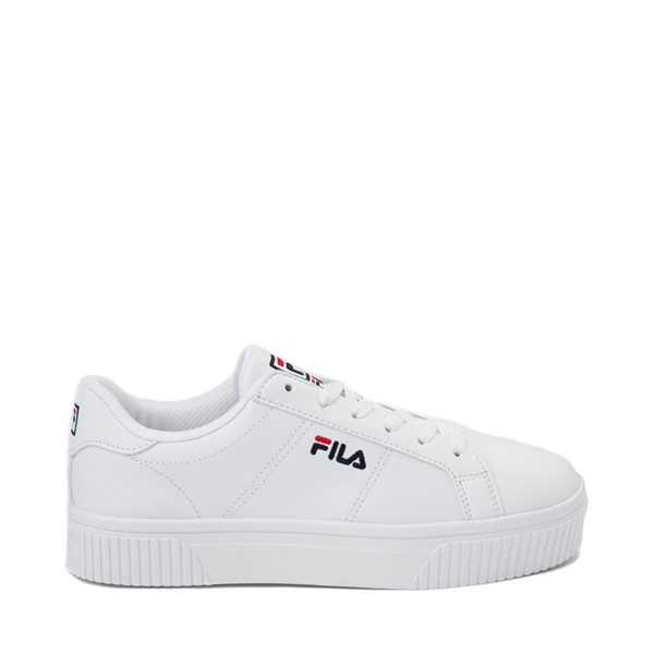 Main view of Womens Fila Panache Platform Athletic Shoe - White
