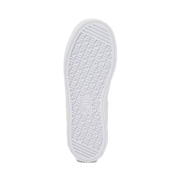 alternate image alternate view Womens Fila Panache Platform Athletic Shoe - WhiteALT3