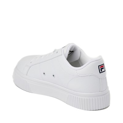 Alternate view of Womens Fila Panache Platform Athletic Shoe - White