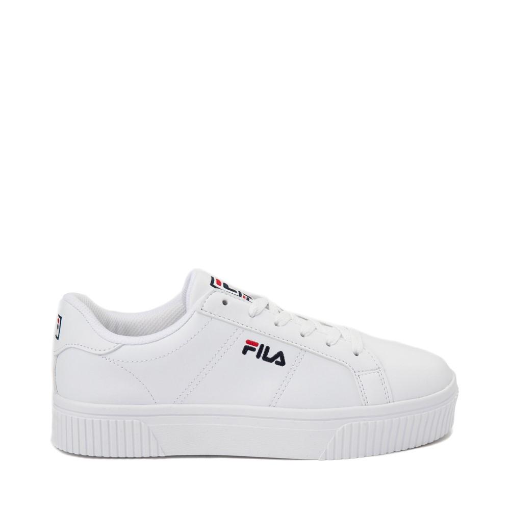 Womens Fila Panache Platform Athletic Shoe - White