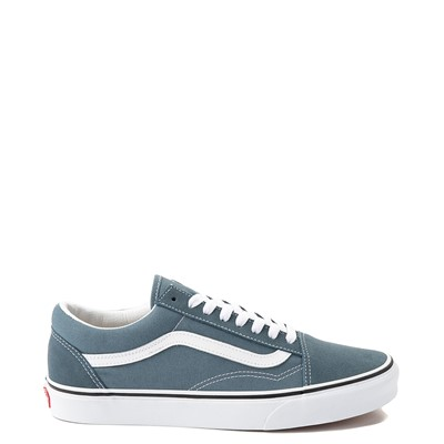 Main view of Vans Old Skool Skate Shoe - Blue Mirage