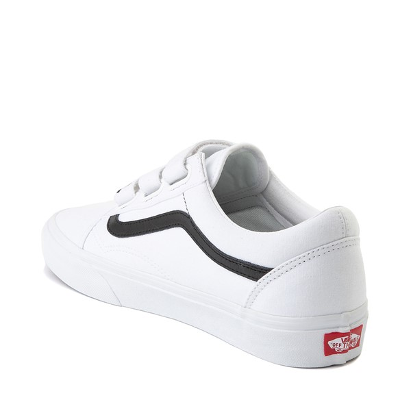 alternate image alternate view Vans Old Skool OTW Skate Shoe - White / BlackALT1