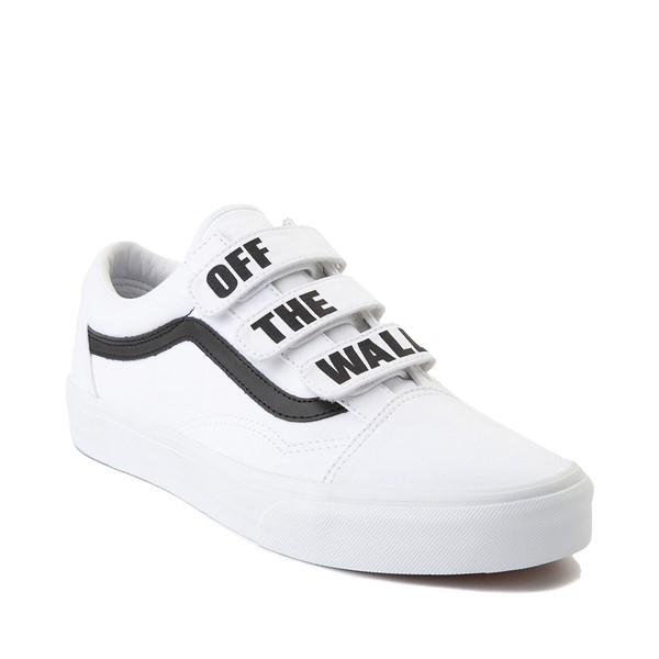 alternate image alternate view Vans Old Skool OTW Skate Shoe - White / BlackALT5