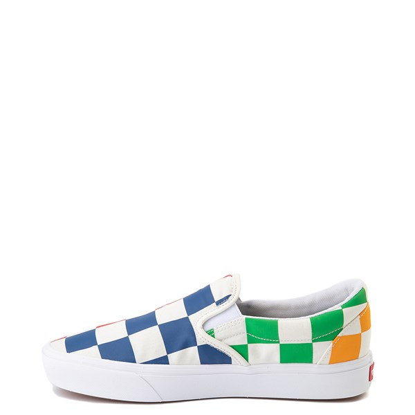 alternate image alternate view Vans Slip On ComfyCush® Big Checkerboard Skate Shoe - MultiALT1