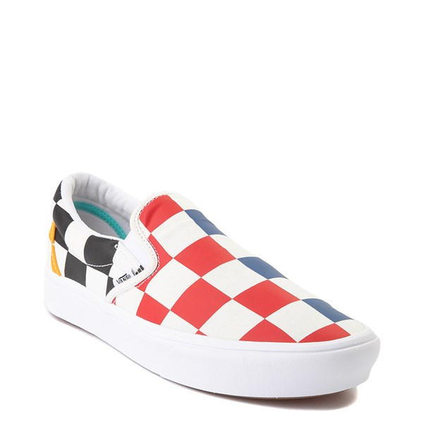 alternate image alternate view Vans Slip On ComfyCush® Big Checkerboard Skate Shoe - MultiALT1B